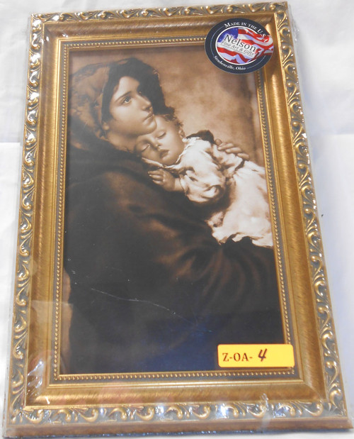 CLEARANCE Madonna of the Streets 8x12 Elegant Framed Print