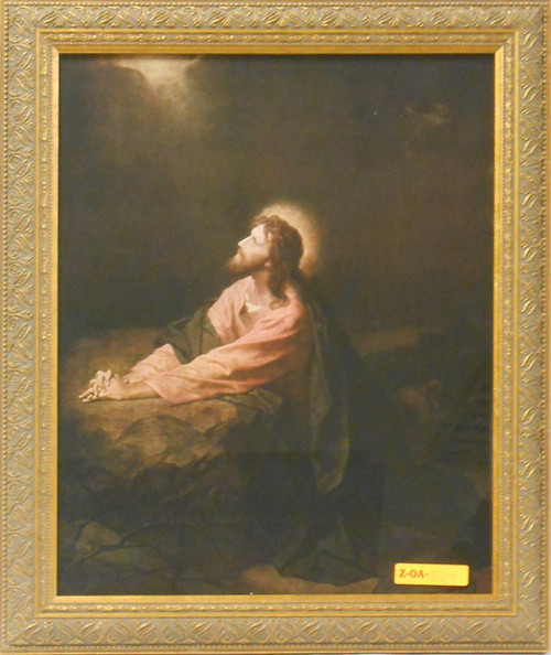 CLEARANCE Christ in the Garden of Gethsemane 10x13 Framed Print