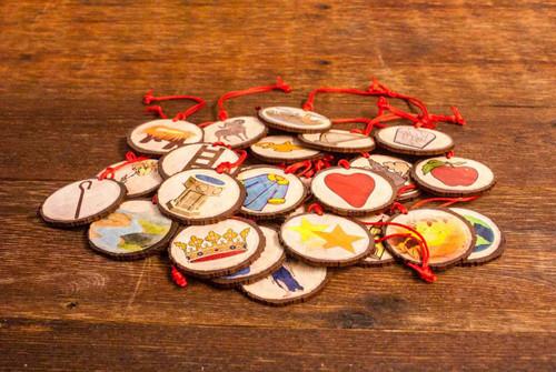 Jesse Tree Ornaments - Set of 27