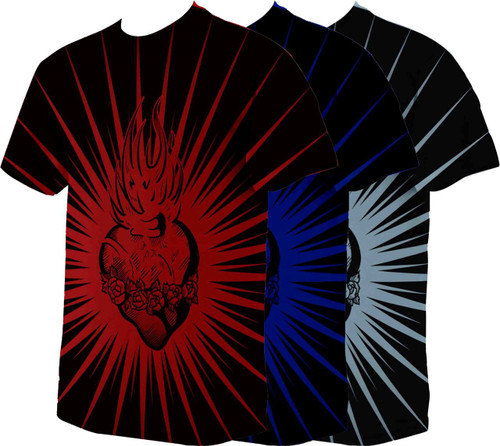 Immaculate Heart of Mary Poly T Shirt