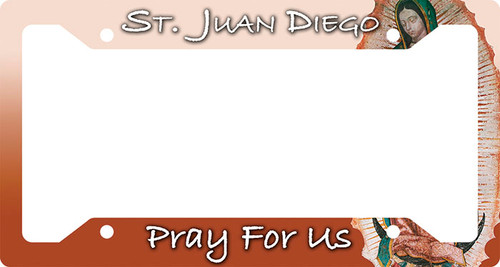 St. Juan Diego Plate Frame