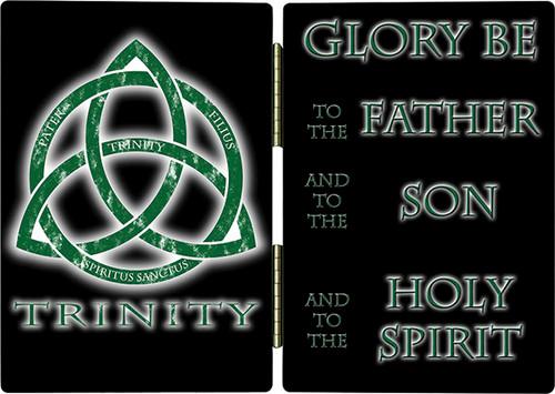 Trinity Glory Be Diptych
