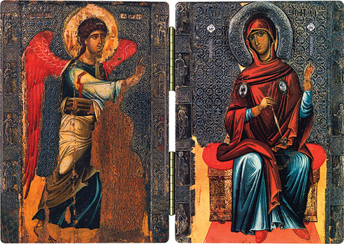 The Annunciation Icon Diptych