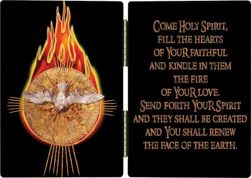 Holy Spirit Fire Diptych