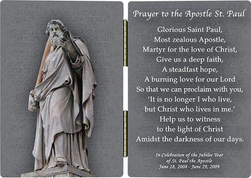 St. Paul Statue Diptych