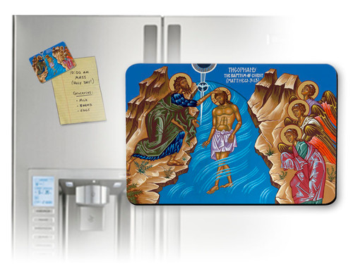 The Baptism of Christ Magnet