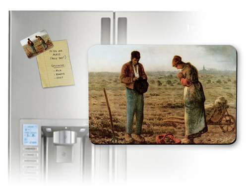 The Angelus by Millet Magnet