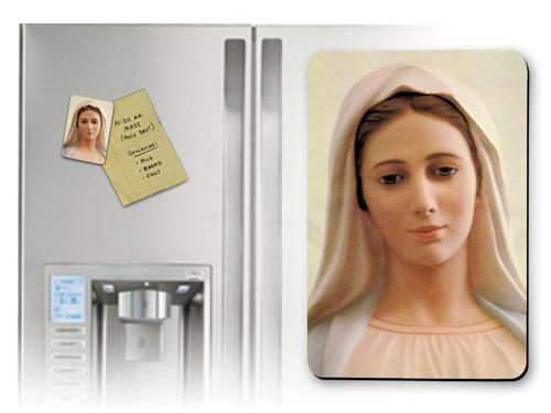 Our Lady of Medjugorje Magnet