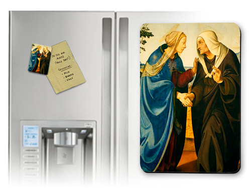 Visitation of Mary and Elizabeth Magnet