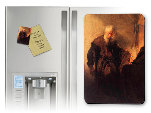 St. Paul at His Desk Magnet