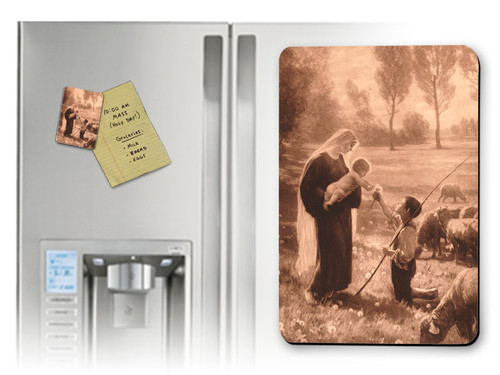 Gift of the Shepherd Magnet