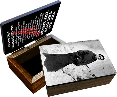"Saint John Paul the Great ""Pope on a Mission"" Keepsake Box"