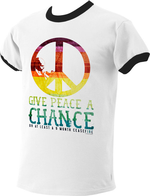 Give Peace a Chance T-Shirt Clearance