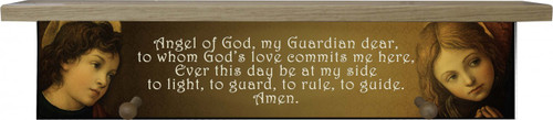 Guardian Angel with Angels Shelf