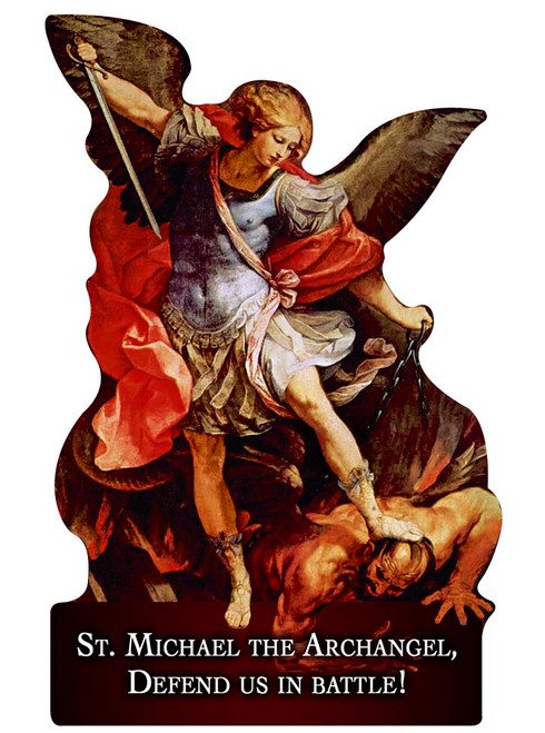 St. Michael the Archangel Cutout Magnet