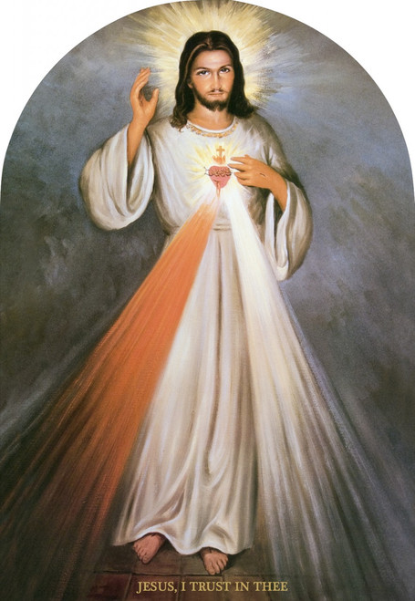 Divine Mercy Full Arched Magnet