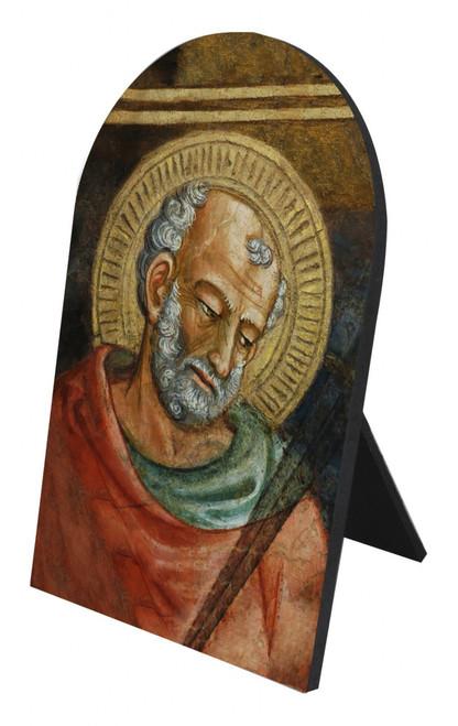 St. Jude Arched Desk Plaque