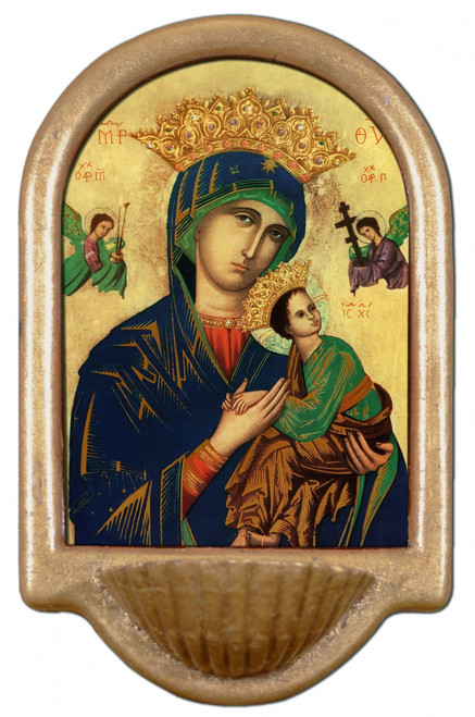 Our Lady of Perpetual Help Holy Water Font