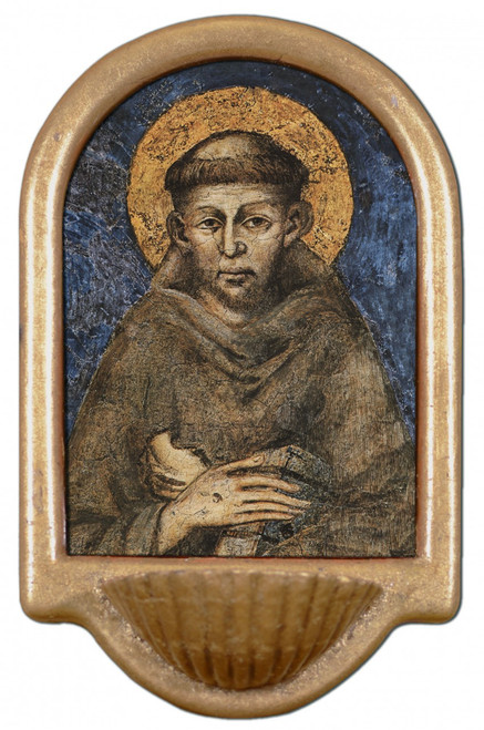 St. Francis of Assisi Holy Water Font