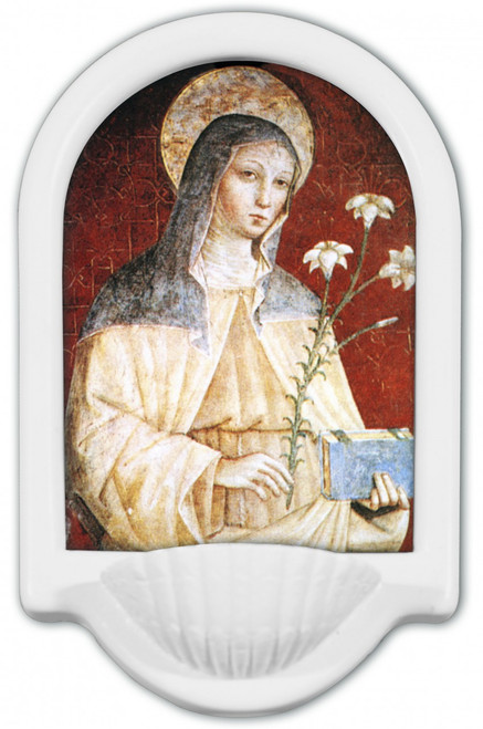 St. Clare Holy Water Font