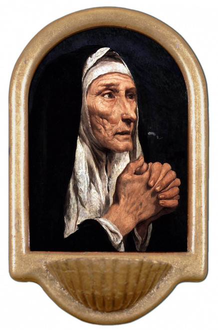 St. Monica Holy Water Font