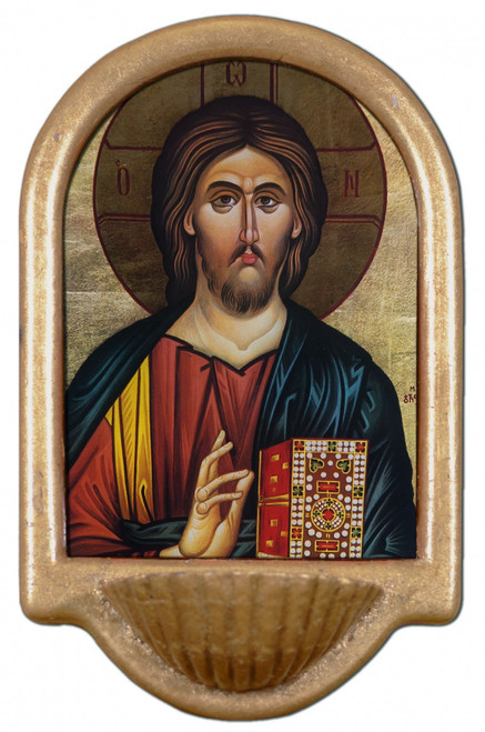 Christ the Teacher Holy Water Font