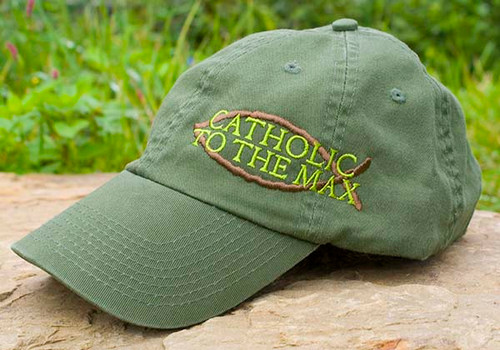 Catholic to the Max Embroidered Hat