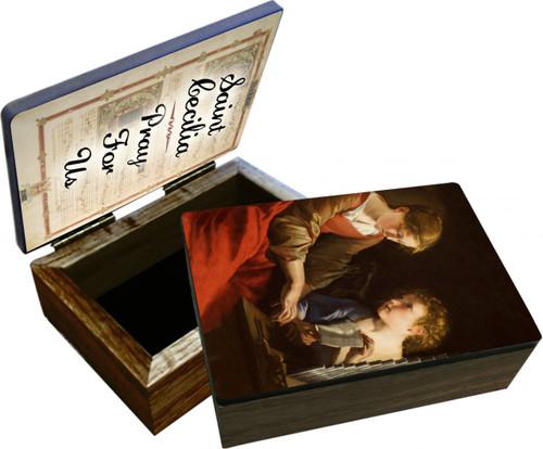 St. Cecilia Keepsake Box