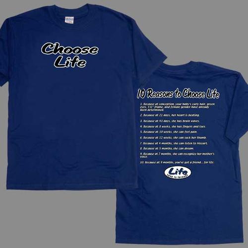Choose Life Children's T-shirt