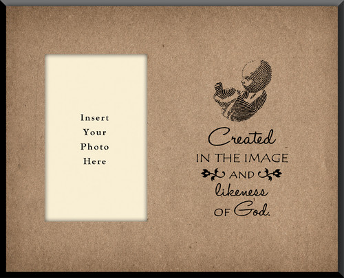 Created In the Image and Likeness of God Photo Frame