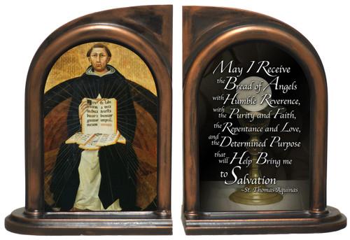 St. Thomas Aquinas Bookends