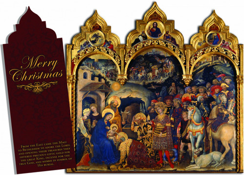 Merry Christmas' Tri-fold Christmas Cards