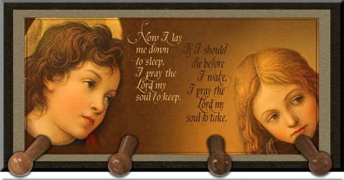 Bed Time Angels Rosary Holder