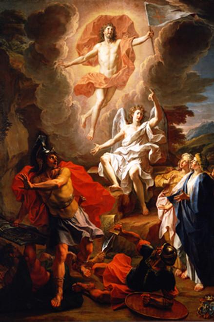 Resurrection by Coypel - Print