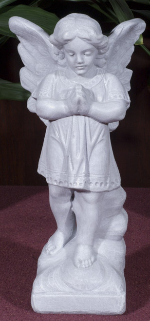 Standing Praying Angel Outdoor Statue (Call to Order)