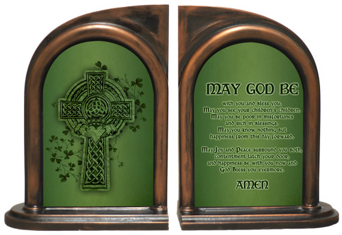 Irish Blessing Bookends