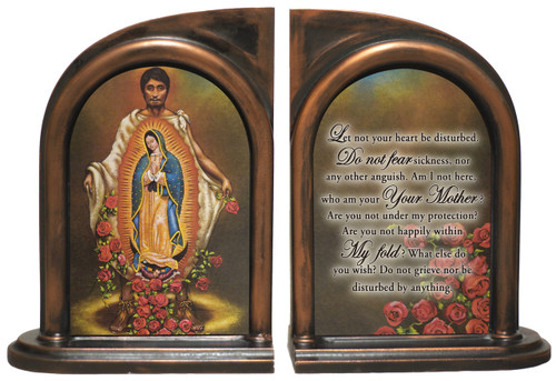 St. Juan Diego Bookends