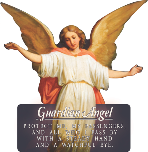 Guardian Angel Cutout Magnets