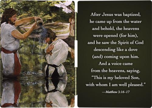 Baptism of Jesus Diptych