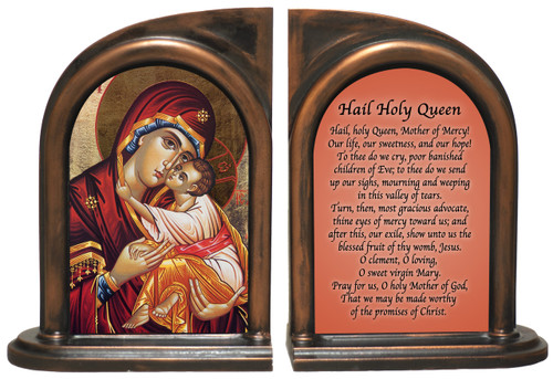 Icon of Mary Bookends