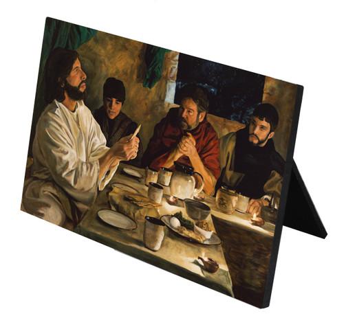 Institution of the Eucharist Horizontal Desk Plaque