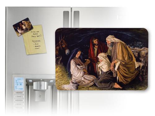 Adoration of the Shepherd Horizontal Magnet