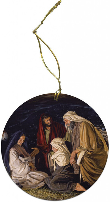 Adoration of the Shepherd Ornament