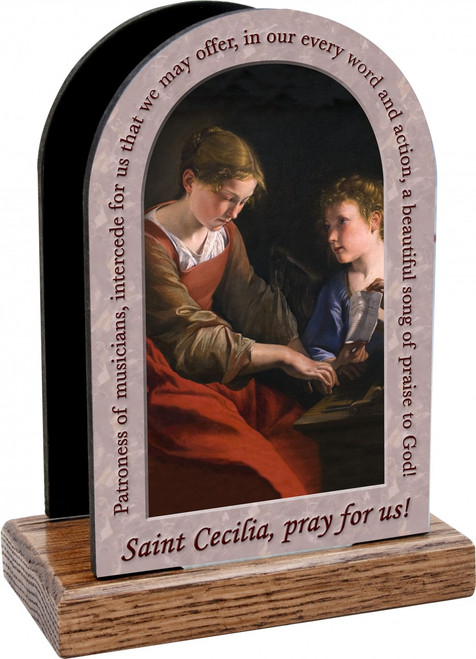 St. Cecilia Prayer Table Organizers (Vertical)