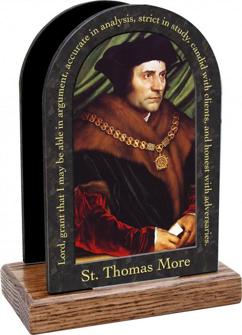 St. Thomas More Prayer Table Organizer (Vertical)