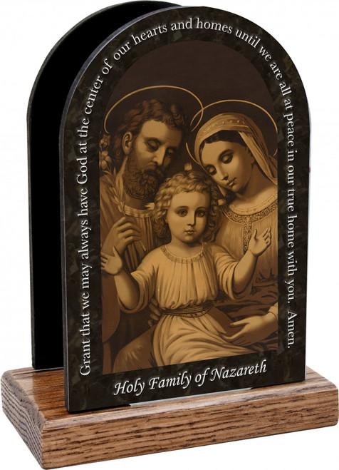 Holy Family of Nazareth Prayer Table Organizer (Vertical)