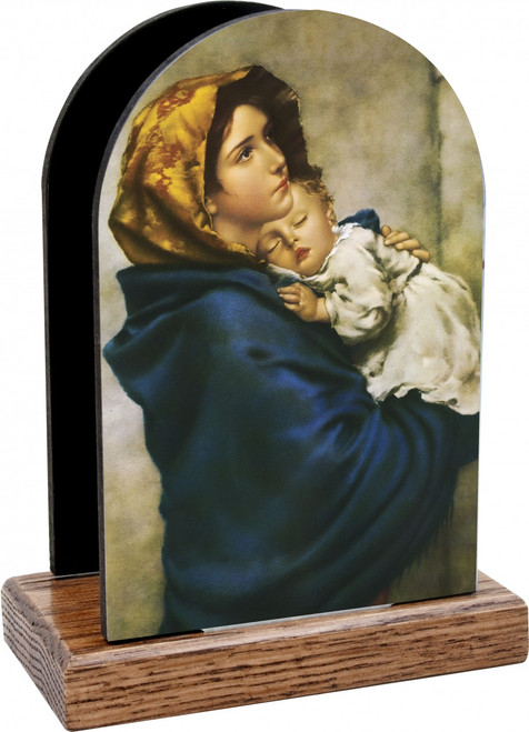 Madonna of the Streets Table Organizer (Vertical)