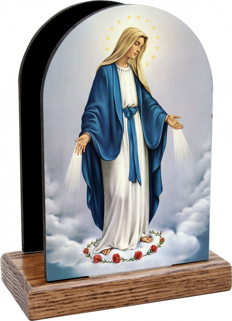 Our Lady of Grace Table Organizer (Vertical)