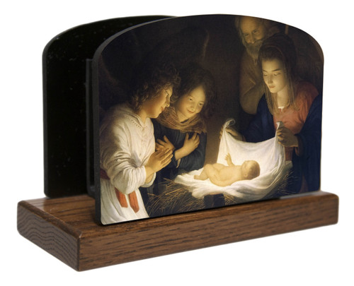 Nativity Horizontal Table Organizer