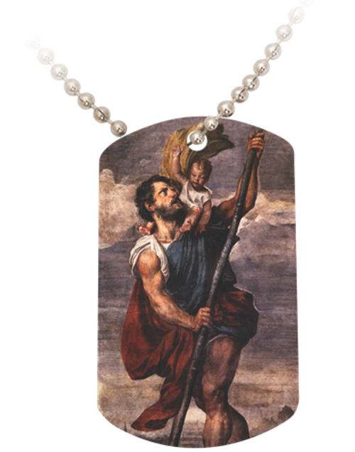 St. Christopher Dog Tag